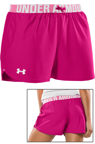 Under Armour Woman Play Up Short rus red