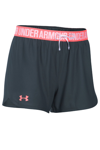 Under Armour Shorts Damen Play Up - black