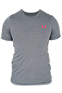 Under Armour T-Shirt Herren Threadborne kurzärmlig - black