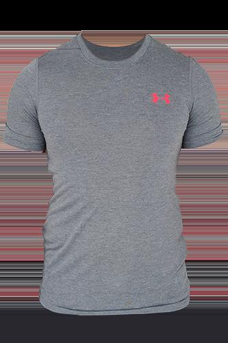 Under Armour T-Shirt Herren Threadborne kurzärmlig - black