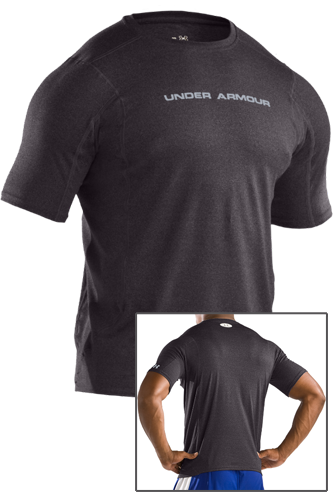 Under Armour Touch fitted T-Shirt carbon