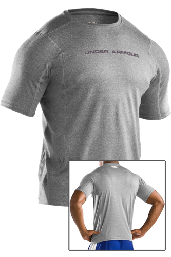 Under Armour Touch fitted T-Shirt true grey