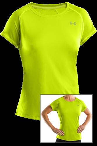 Under Armour Woman Catalyst T-Shirt green