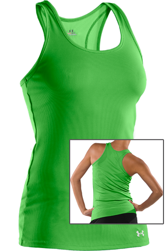 Under Armour Woman Victory Tank green