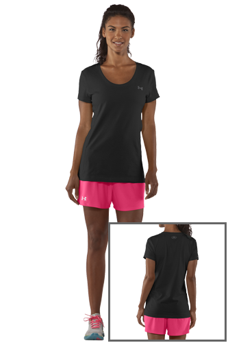 Under Armour CC SASSY SCOOP black
