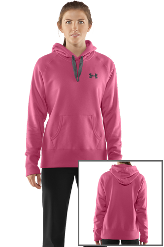 Under Armour Charged Cotton Storm Hoody pink