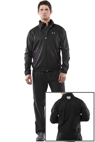 Under Armour ESCAPE WIND AND WATER JACKET black