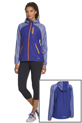 Under Armour Qualifier Woven Jacket Jacke in blau