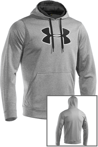 Under Armour Fleece Big Logo Hoody II true grey