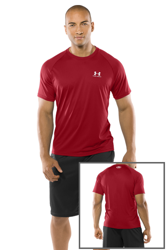 Under Armour Tech SS Tee Red