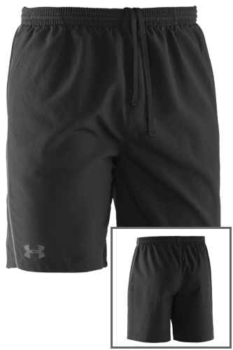 Under Armour WOVEN SHORT ACE schwarz