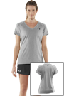 Under Armour Woman Tech T-Shirt - lightgrey