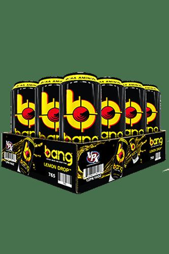 VPX Bang RTD Energy Drink Peach Mango - 500ml Restposten