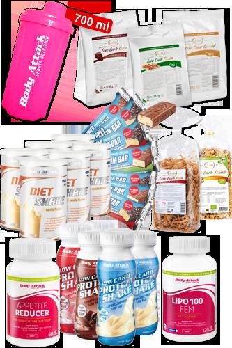 Women´s-Start-up-Diät-Paket für 20 Tage