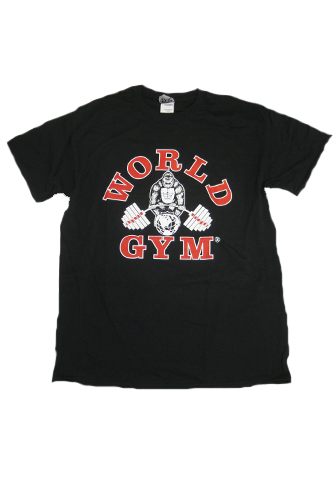 World Gym Classic T-Shirt black