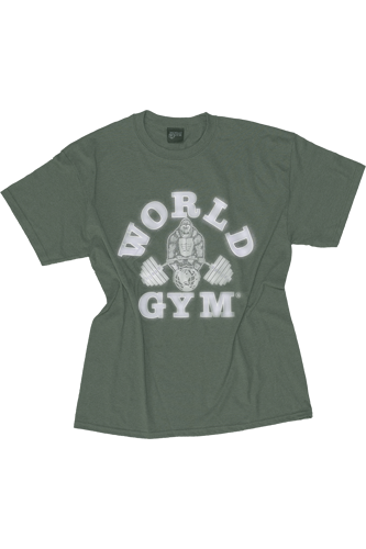 World Gym Classic T-Shirt army green