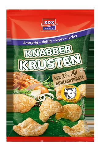 XOX Knabber Krusten - 50 g