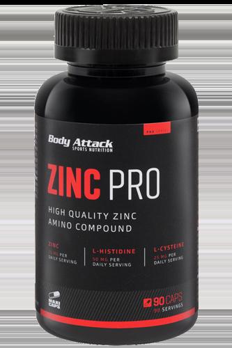 Body Attack Zinc PRO - 90 Caps