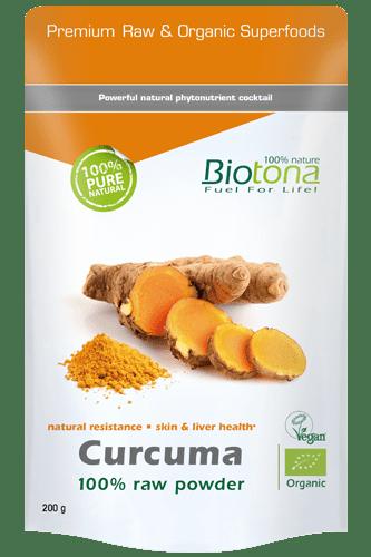 Biotona Curcuma raw powder - 200g