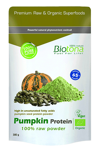 Biotona Kürbisprotein 100% raw powder - 300g