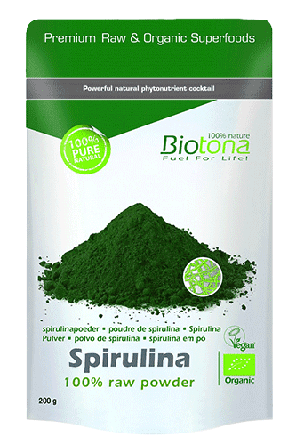 Biotona Spirulina raw powder - 200g