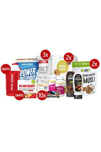 Body Attack 10 Tage-Blitz-Diät-Paket - Women