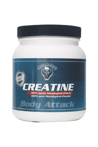 Body Attack Creatine Kapseln - 625 St.