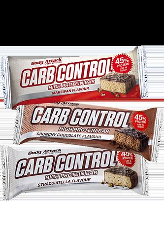 Body Attack Carb Control-Proteinriegel Marzipan - 100g Restposten