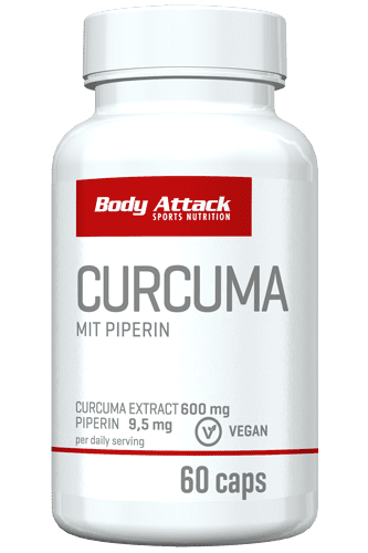 Body Attack Curcuma - 60 Caps
