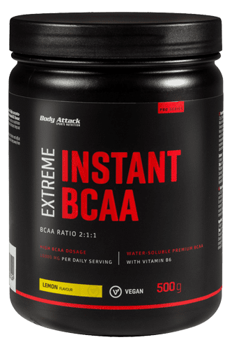 Body Attack Extreme Instant BCAA - 500g Remaining Stock