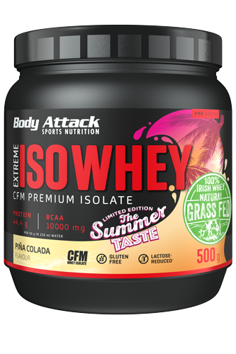 Body Attack Extreme ISO Whey - 500g Summer Edition