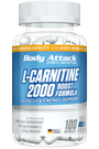 Body Attack L-Carnitine 2000 - 100 Caps