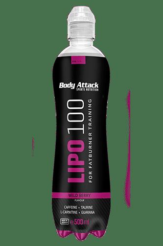 Body Attack LIPO-100 Drink - 500ml Restposten