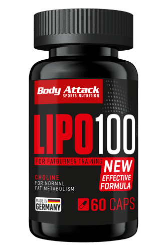 Body Attack LIPO 100 - 60 Caps Restposten