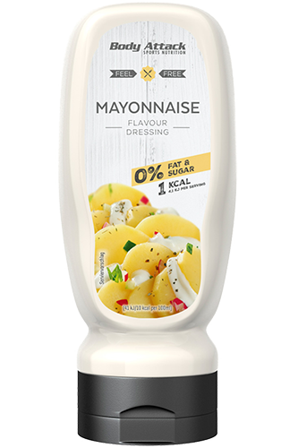 Body Attack Mayonnaise Dressing - 320ml