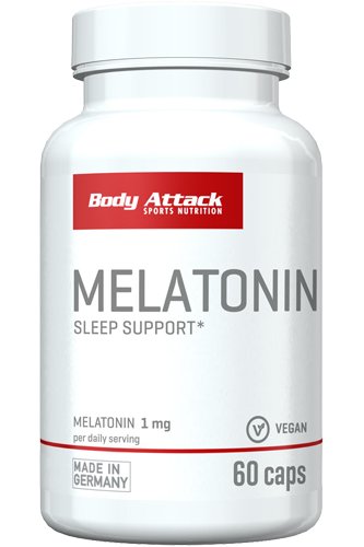 Body Attack Melatonin - 60 Caps