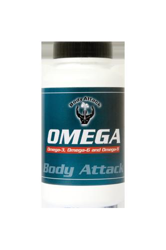 Body Attack OMEGA 3-6-9   90 Softgel Kapseln