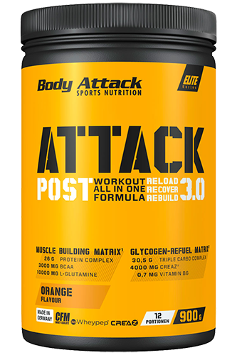 Body Attack Post Attack 3.0 - 900g
