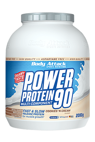 Body Attack Power Protein 90 - 4kg Variety Pack