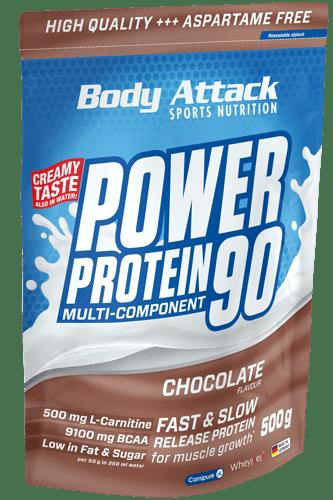 Body Attack Power Protein 90 - 500g Restposten