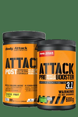Body Attack Pre Attack 3.0 - 600g + Post Attack 900g