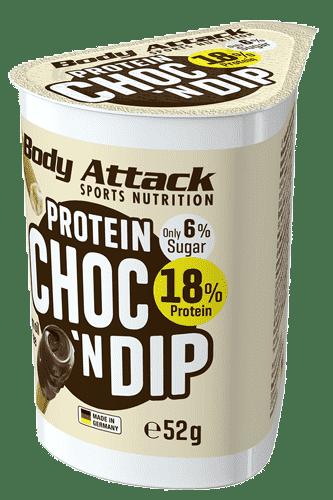 Body Attack Protein Choc´N Dip - 52g Restposten