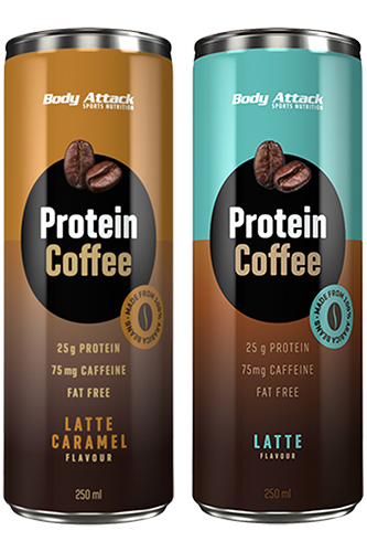 Body Attack Protein Coffee - 250ml Restposten