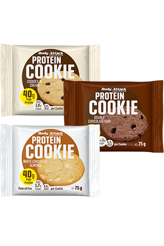 Body Attack Protein-Cookie Cookies n Cream - 75g Restposten