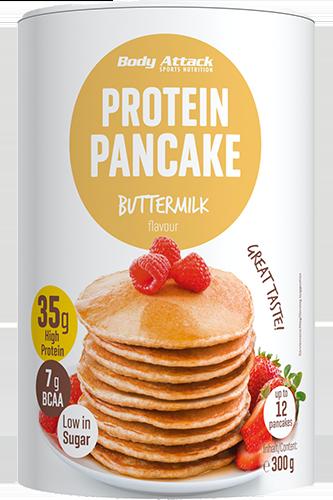 Body Attack Protein Pancake Buttermilk Flavour with Oats - 300g Restposten