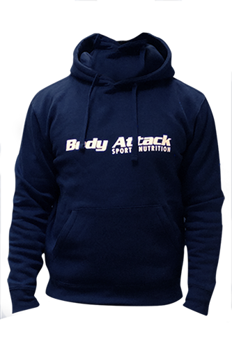 Body Attack Sports Nutrition Hoodie - Navy