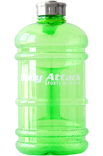 Body Attack Sports Nutrition Water Bottle XXL - 2,2 Liter bright green Restposten