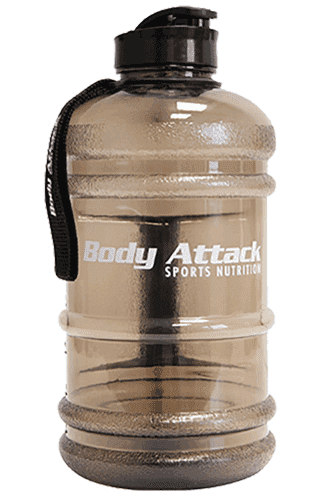 Body Attack Sports Nutrition Water Bottle XXL grey - 2,2 Liter