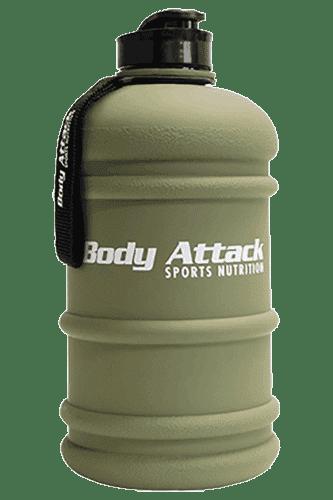 Body Attack Sports Nutrition Water Bottle XXL nato-green - 2,2 Liter