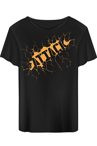 Body Attack T-Shirt Attack